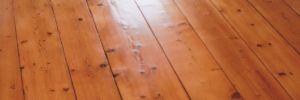 Renovace staré prkenné podlahy