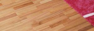 Dýhovaná podlaha - třešeň