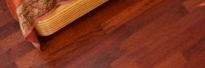 Masivní třívrstvá podlaha - Merbau