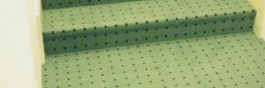 Obejktový koberec - polepení schodů